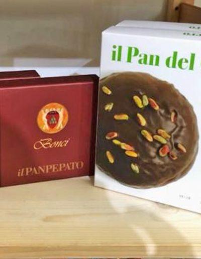 Dalla Toscana Panpepato Pan del Cassero.