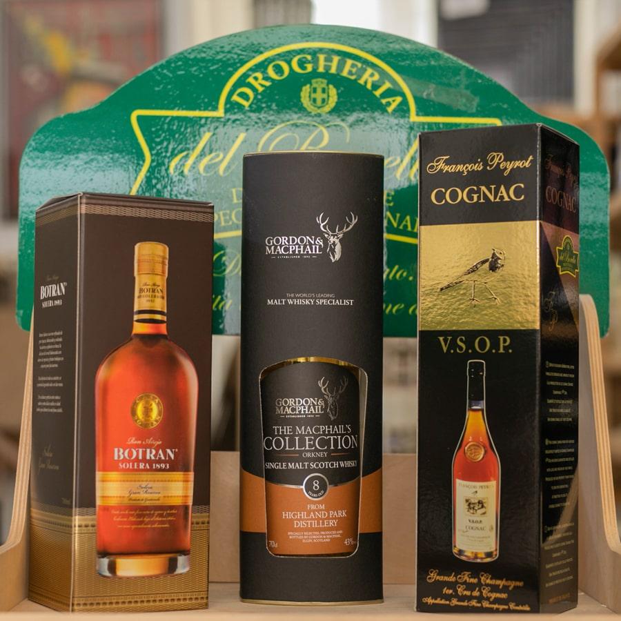 Rum-Whisky-e-Cognac