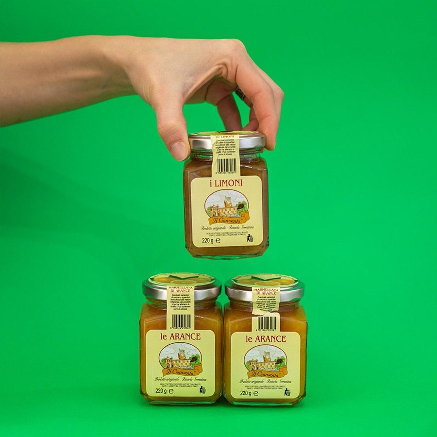 Marmellata di arance e limoni 220 gr.