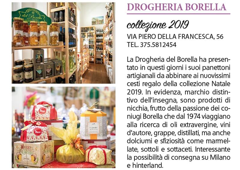 Drogheria del Borella, collezione 2019